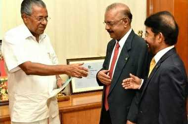 Dr. Majeed donates Rs. 5.5 crores to Kerala Chief Minister's Distress Relief Fund along with adopting one village devastated in the flood