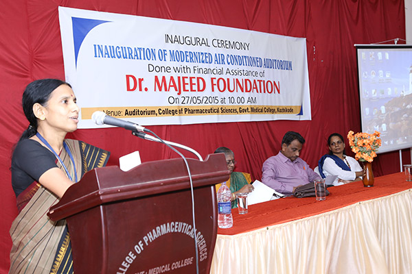 Inauguration of the Modernized Air Conditioned Auditorium, Kerala