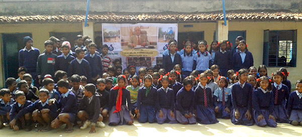 Dr. Majeed Foundation helps to Build a School for the Poor in Kamda Village, Khunti District, Jharkhand