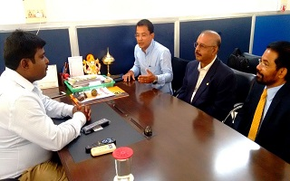 Dr Majeed visit to Assam and Meghalaya