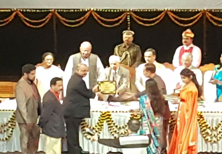 Dr. Muhammed Majeed felicitated as Marvellous Personality of India